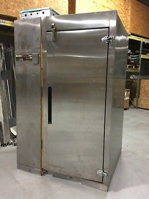 Victory 1FPAD4 Blast Chiller Dual Sided Self Contained Used 208v freezer