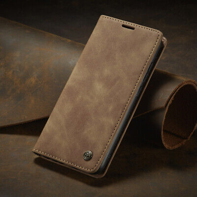 For Xiaomi Mi 9 9T Redmi K20 Note 8 Pro Real Leather Wallet Card Holder Case