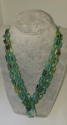 Beautiful 3 Ancient Roman Glass Beads Necklaces Dating back to 2000 Years ago