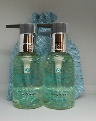 NEW Molton Brown Mulberry & Thyme Hand wash with pump gift set 200ml