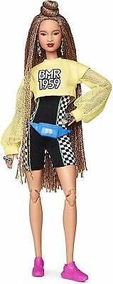 Barbie BMR1959 Fully Poseable Fashion Doll with Braided Hair, Fully Poseable new