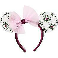 Disney Parks Minnie Mouse Ear Haunted Mansion Tightrope Walker Girl Headband NWT