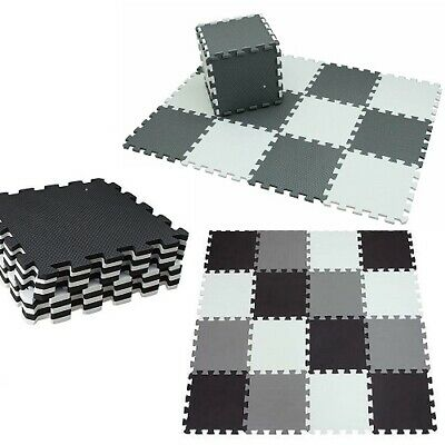 EVA Foam Mat Kids 30x30cm Play Interlocking Exercise Tiles Floor Puzzle Mat