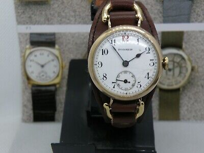 PRE 1920`s  WIRE LUG ROAMER MEN`S WATCH....EXTREMELY HANDSOME