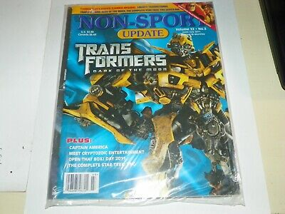 Non-Sport Update Magazine TRANSFORMERS June-July 2011-New-Sealed-with promo card