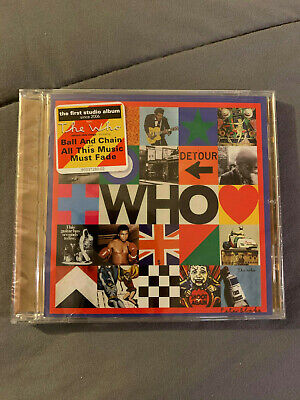 THE WHO - WHO CD (New Released Music CD 2019) NEW FACTORY SEALED FAST!