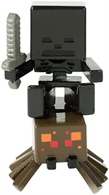 Toys-Minecraft -Deluxe Figure Wither Spider Jockey (FVH11) / (UK IMPORT) TOY NEW