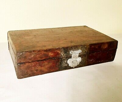 Antique Chinese Leather Box (2958), Circa mid of 19th century