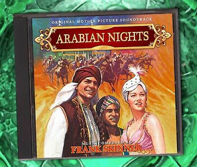 ARABIAN NIGHTS (1942) Frank Skinner RARE FILM SCORE