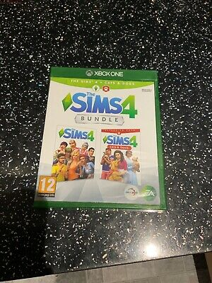 Xbox One Game The Sims 4 + Cats & Dogs Bundle