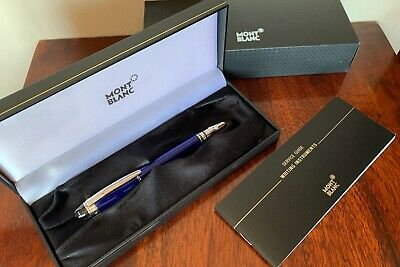 Montblanc Starwalker Cool Blue Fountain Pen Special Edition 09975 New