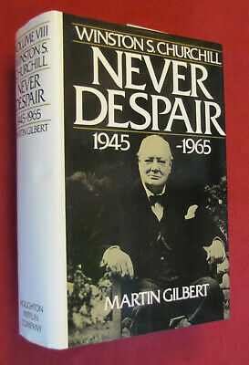 Winston S. Churchill Vol. 8 : Never Despair, 1874-1965 by Martin Gilbert...NEW