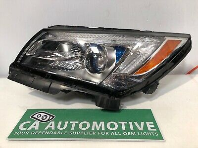 2014 2015 2016 Buick LaCrosse Headlight Left LH Driver Halogen w/LED OEM B71