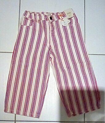 River Island 3 - 4 Year Old Girls Funky Stripped Jeans/Trousers