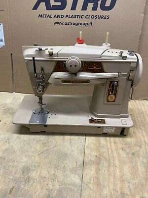 Singer 401G Slant-o-Matic Semi Industrial Multi Decorative Sewing Machine A8