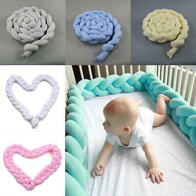 Soft Solid Braided Baby Long Pillow Home Decorative Pillow ElR8