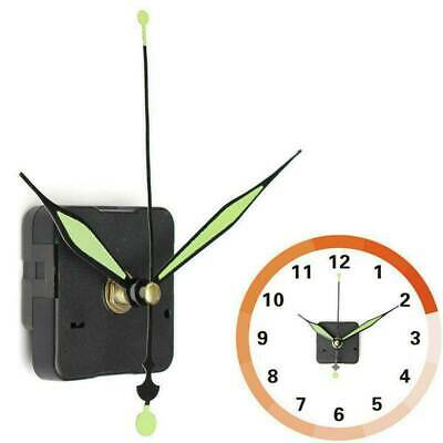 Free Shipping Luminous Hands DIY Quartz Clock Green Spindle Movement Mechanis...