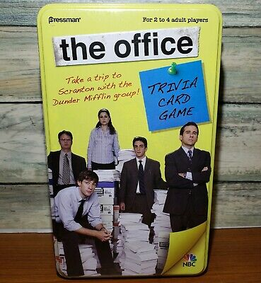 The Office Trivia Card Game - Original Edition in Tin Box 2009 Factory Sealed