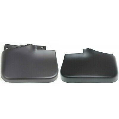 Rear LH And RH Mud Guard With Fender Flares And Wide Tire Fits Montero Sport