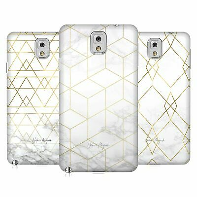 Official Nature Magick Geometric Gold Marble Hard Back Case For Samsung Phones 2