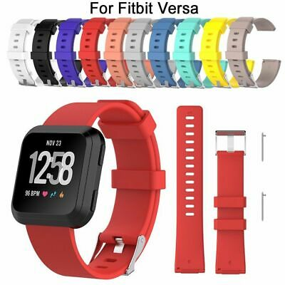 Silicone Bracelet Replacement Wristband Wrist Strap Smart Band For Fitbit Versa