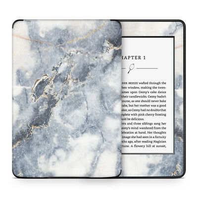 Grey Gold Marble Skin Sticker Decal Protective Wrap to cover Kindle Paperwhite