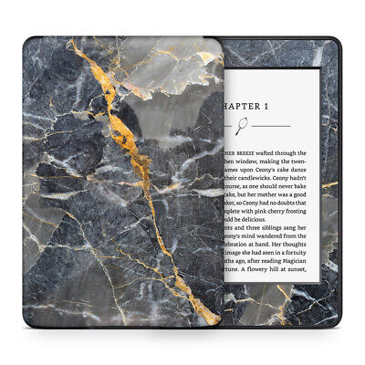 Slate Gold Marble Skin Sticker Decal Protective Wrap to cover Kindle Paperwhite