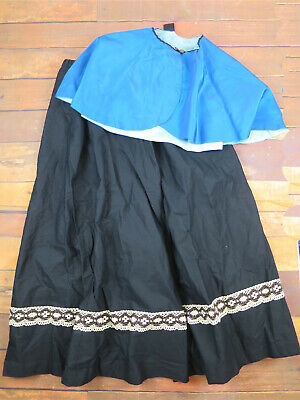 Victorian Style Skirt & Cape - Costume  - Theatrical UK 14/18