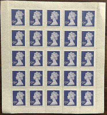 25 x £2.65 stamps GB peel & seal, mint, unused ready for postage 10% discounted