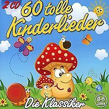 60 Tolle Kinderlieder (2 CDs) von Kiddy Club | CD | Zustand gut