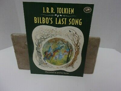 Tolkien Bilbo's last song Pauline Baynes.Hobbit lotr lord of the rings