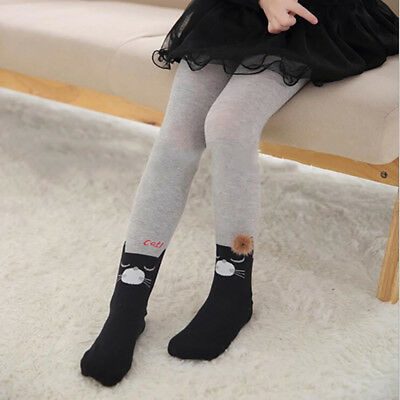 Soft Cotton Girls Stockings Tights Thick Tights Winter Warm Pant Children Pants