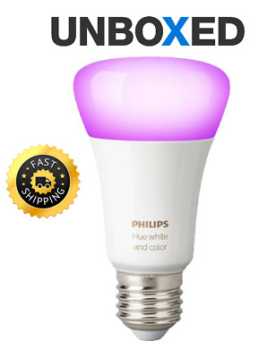 Philips Hue White & Colour Ambience Wireless LED Bulb Richer Colours - E27