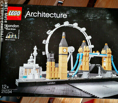 LEGO 21034 Architecture London Skyline Building Set, London Eye, Big Ben, new