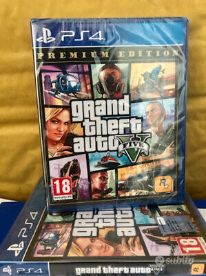 Gta 5 V Premium Edition Playstation 4 Ps4 Nuovo Sigillato Italiano