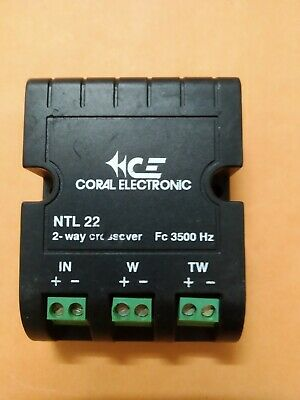 Coral Electronic NTL 22 2-way crossover 3500 Hz