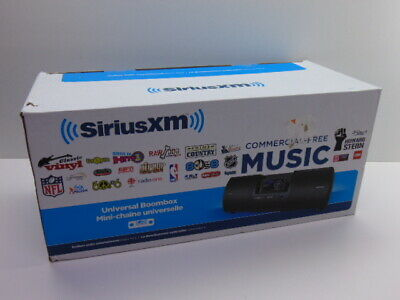 SiriusXM Universal Boombox SXMB2C (LOOK DESCRIPTION) T200