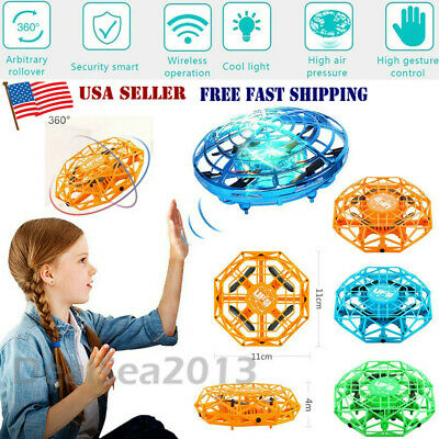 Mini Drones 360° Rotating Smart Mini UFO Drone Kids Toys Xmas Toy Gifts USA FAST