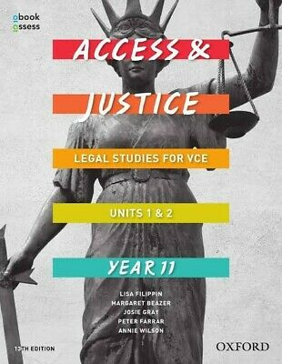 PDF Oxford Access and Justice VCE Legal Studies Units 1 & 2