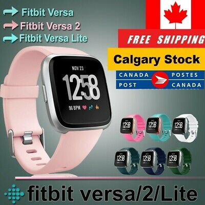 Replacement Silicone Wrist Band Strap For Fitbit Versa Band Large For 1 & 2 Lite