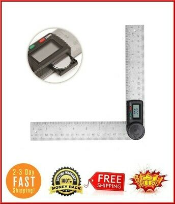 Starrett 505P-7 Miter Saw Protractor Digital Angle Finder Protractor Ruler 200Mm