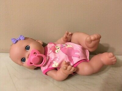 Berenguer Baby Doll 12 Inch Girl Doll Pink Pacifier Baby Alive Outfit