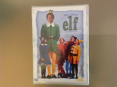 Elf 2 Disc Dvd - Will Ferrell - Brand New And Sealed
