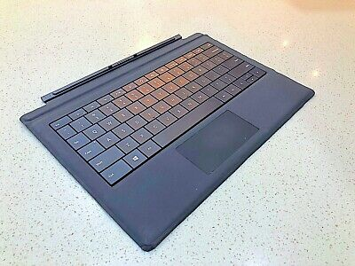 ༺ༀ Genuine Microsoft Surface Pro 3-4-5 Keyboard+Backlit-keyboard•Black ༀ༻#224