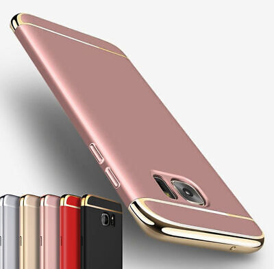 For Samsung Galaxy S10 S9 S8 Plus S7 S6 Luxury Slim Shockproof Bumper Case Cover
