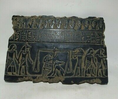 RARE ANCIENT EGYPTIAN ANTIQUE AFTER LIFE Judgment Stella 1325-1142 BC