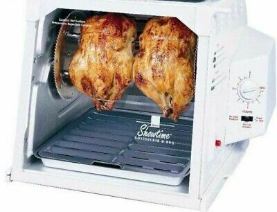 Ronco Showtime White Model 4000 Rotisserie Oven & BBQ - Used