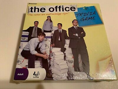 The Office Trivia Game  Pressman Game 2 to 6 Players NBC Sealed Mifflin New FREE