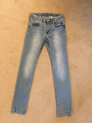 Zara Boys Light Denim Skinny Jeans Age 10-11