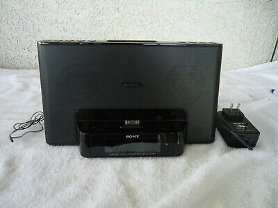 Sony Personal Audio Docking System/Clock Radio for iPhone & iPod